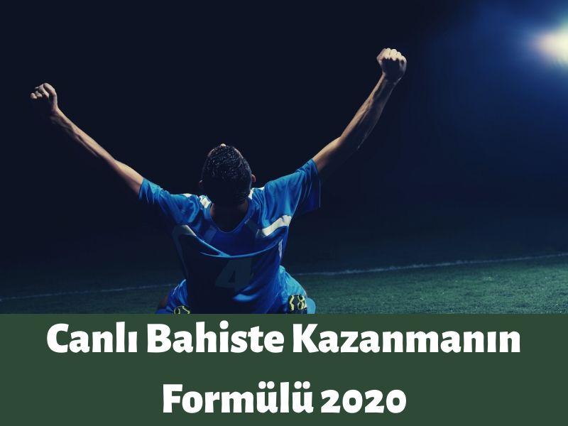 canlı bahiste kazanmanın formülü 2020