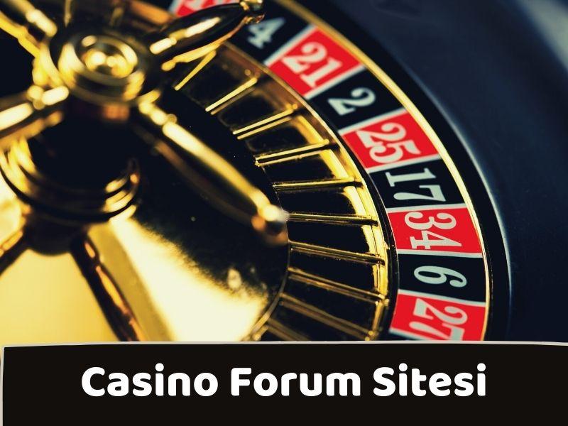 Casino Forum Sitesi