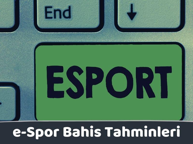e-Spor Bahis Tahminleri