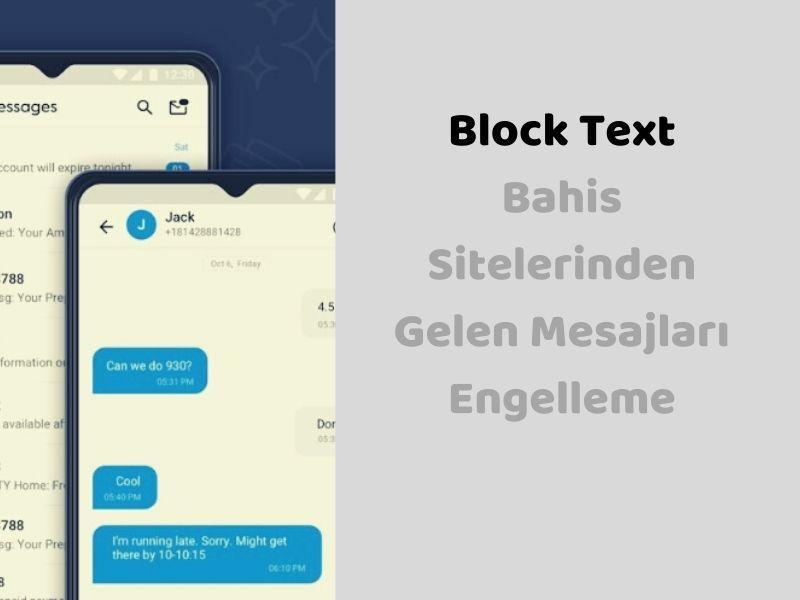 Mesaj Engelleme Uygulamaları Android